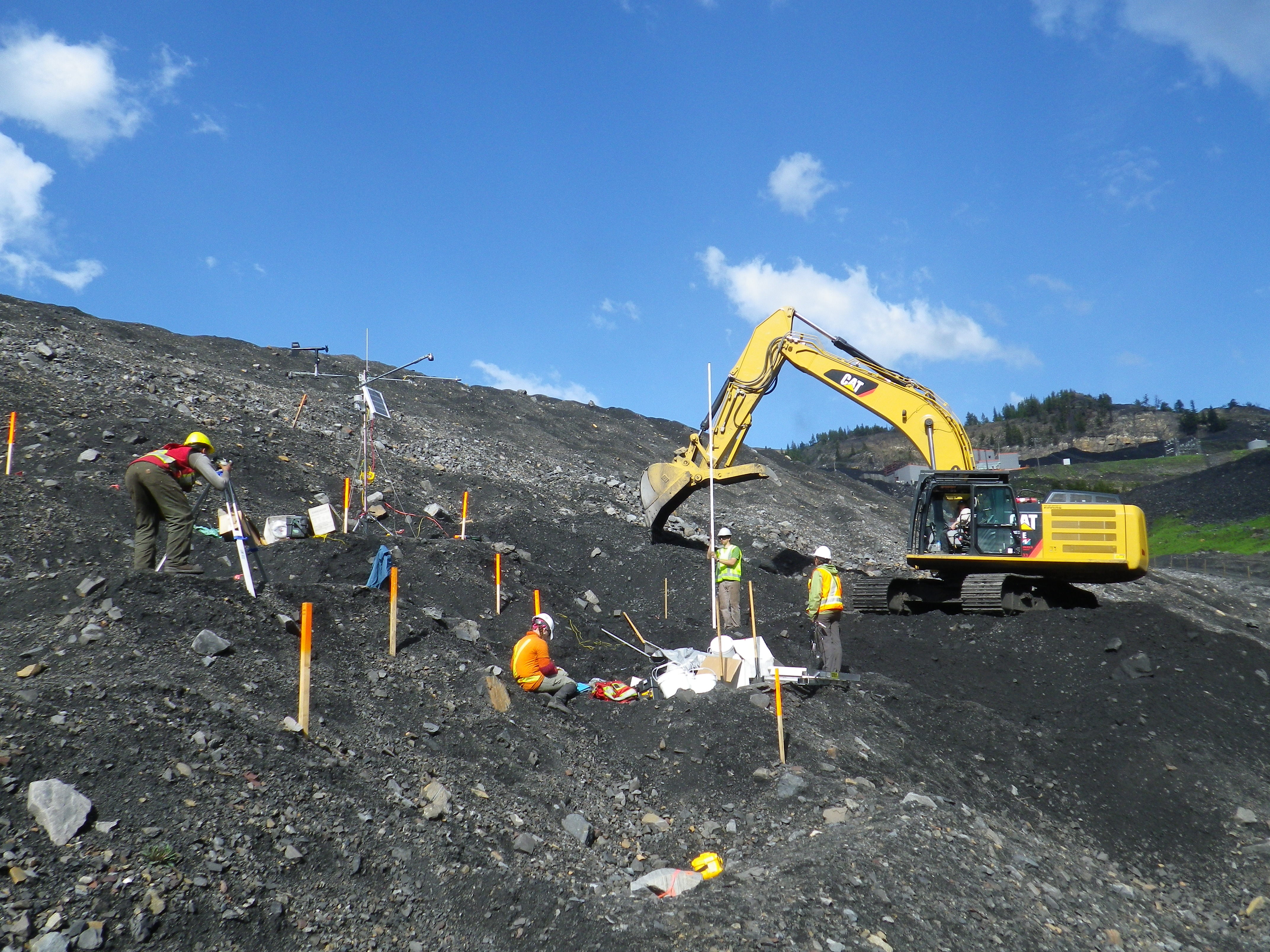 Building Mined Rock Stockpiles for the Future 1